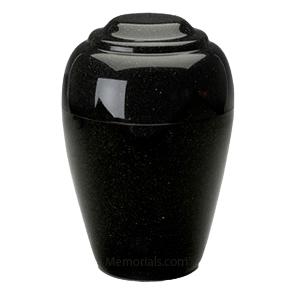 Grecian Orca Black Granite Cremation Urn II