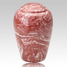 Grecian Rose Marble Cremation Urn II