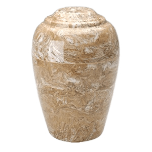 Grecian Syrocco Marble Cremation Urns