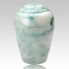 Teal Pet Cremation Urn