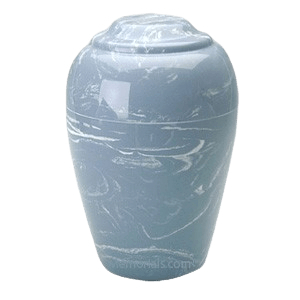Grecian Wedgewood Marble Cremation Urns