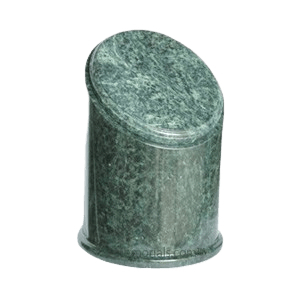 Crown Green Small Marble Urn