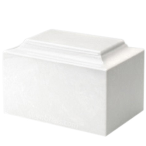 White Pet Urns