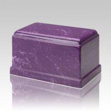 Olympus Amethyst Marble Cremation Urn