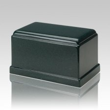 Olympus Sea Holly Green Granite Cremation Urn