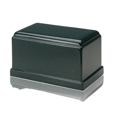 Olympus Sea Holly Green Granite Cremation Urn