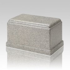 Olympus Mist Gray Granite Cremation Urn