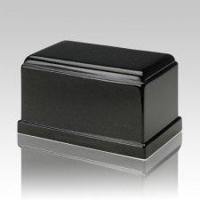 Olympus Orca Black Granite Cremation Urn