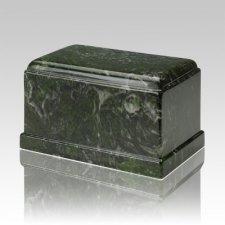 Olympus Verde Marble Cremation Urn
