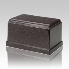 Olympus Vintage Red Granite Cremation Urn