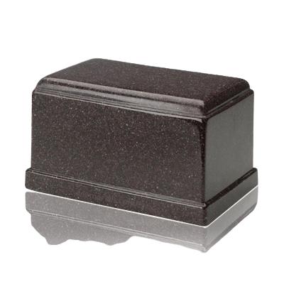 Olympus Vintage Red Granite Cremation Urn
