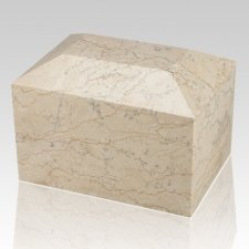 Botticino Square Child Cremation Urn