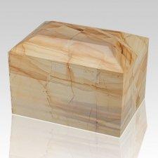 Teakwood Square Child Cremation Urn