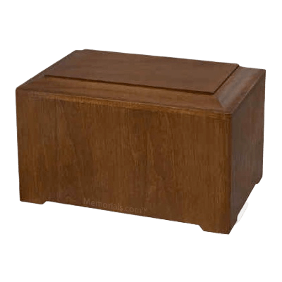 Marquis Walnut Wood Urn