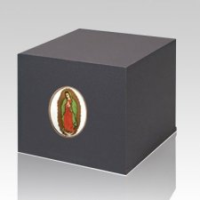 Swedish Lady of Guadalupe Cremation Urn