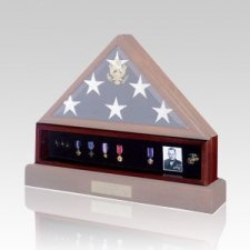Flag Medal Cherry Display Case