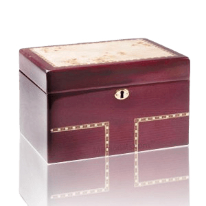 Memento Wood Chest Cremation Urn