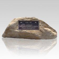 Forever Memorial Boulder Rock