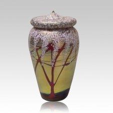 Cherry Bloom Cremation Urn