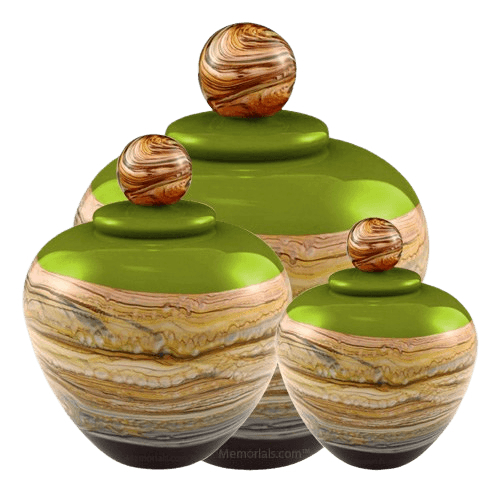 Memoriam Green Art Cremation Urns