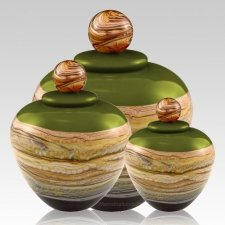 Memoriam Lime Art Cremation Urns