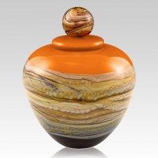 Memoriam Mandarin Large Art Urn