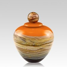 Memoriam Mandarin Small Art Urn
