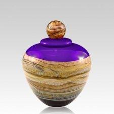 Memoriam Purple Small Art Urn