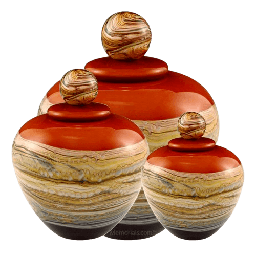 Memoriam Strawberry Art Cremation Urns