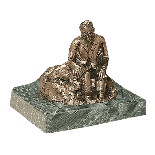 Man Resting Keepsake Cremation Urn