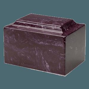 Merlot Marble Individual Urn