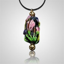 Midnight Garden Cremation Ash Pendant