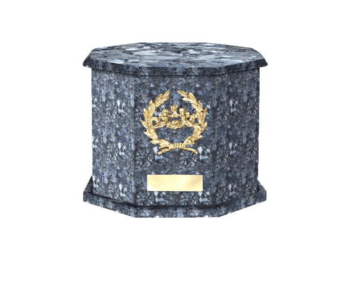Mila Blue Pearl Cremation Urn