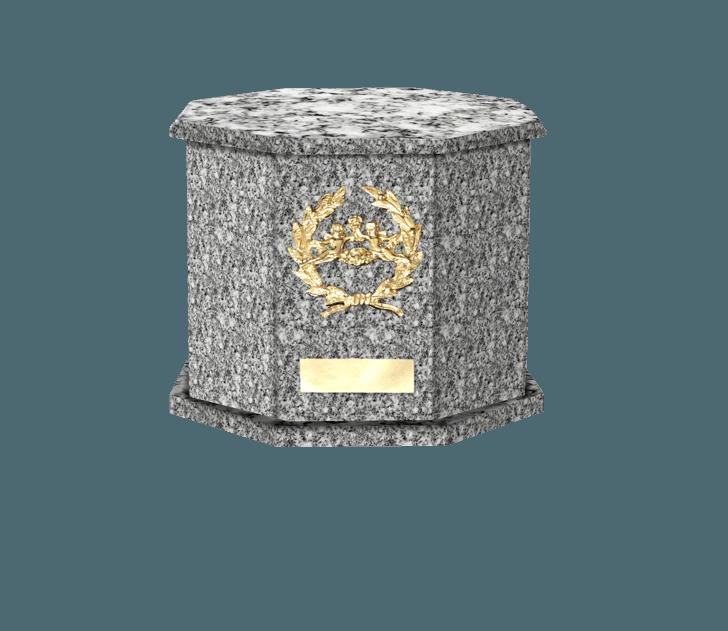 Mila Grey Cremation Urn