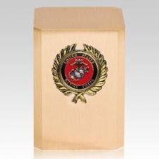 Marine Corps Wreath Military Cremation Urn