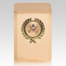 Army Wreath Military Cremation Urn