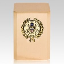 Great Seal Wreath Military Cremation Urn