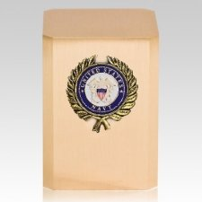 Navy Wreath Military Cremation Urn