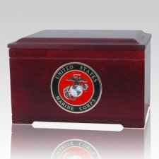 Military Memory Chest Cremation Urns