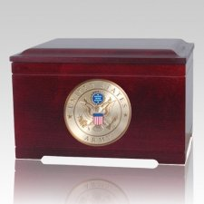 Army Memory Chest Cremation Urn