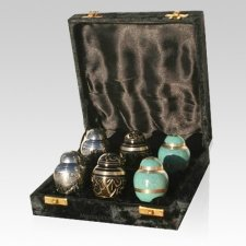 Combination Mini Keepsake Cremation Urns