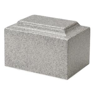 Mist Gray Granite Cremation Urns