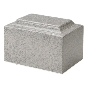 Mist Gray Granite Individual Urn