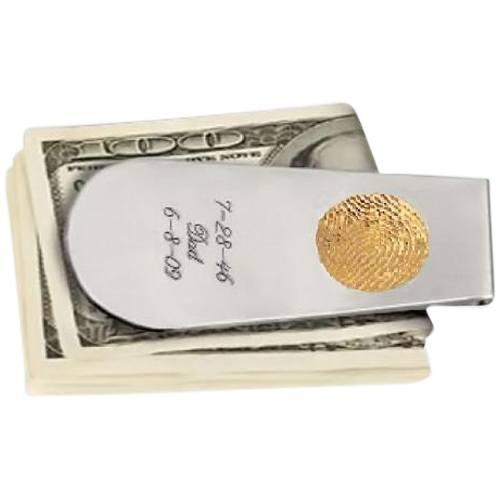 Money Clip Print 14k Yellow Gold Keepsake