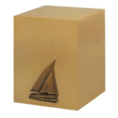 Monogram Cube Cremation Urn