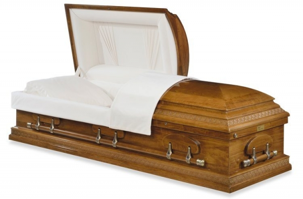 Mount Vernon Wood Casket