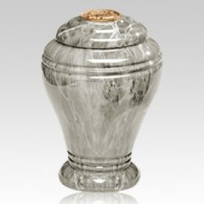 Mt Rainier Marble Cremation Urn IV