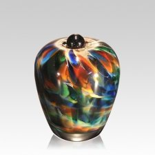 Mundo Glass Keepsake Cremation Urn