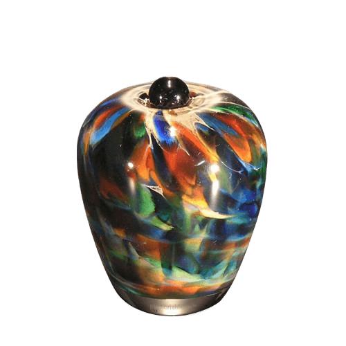 Mundo Glass Keepsake Cremation Urn