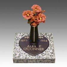 Infant Bronze Grave Marker